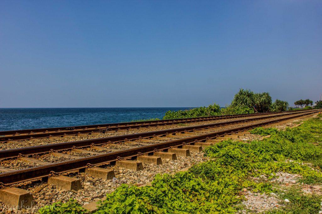 Đi qua đây lại tiếc cái chuyến tàu đi Galle. Cảnh đẹp quá mà