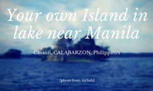 Thuê cả hòn đảo tư nhân để ở trên Airbnb khi du lịch Philippines