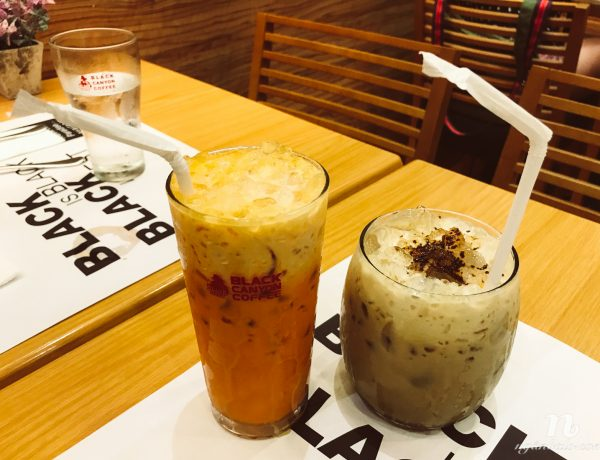 Quán cà phê, trà Thái Lan bán kèm đồ ăn ở Circuit, Makati: Black Canyon Coffee