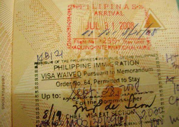 Hướng dẫn cách gia hạn visa du lịch ở Philippines