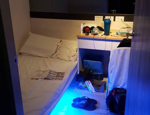 Review khách sạn dorm Royal Hours Deluxe Inn One ở ngay Ximending Đài Bắc, Đài Loan