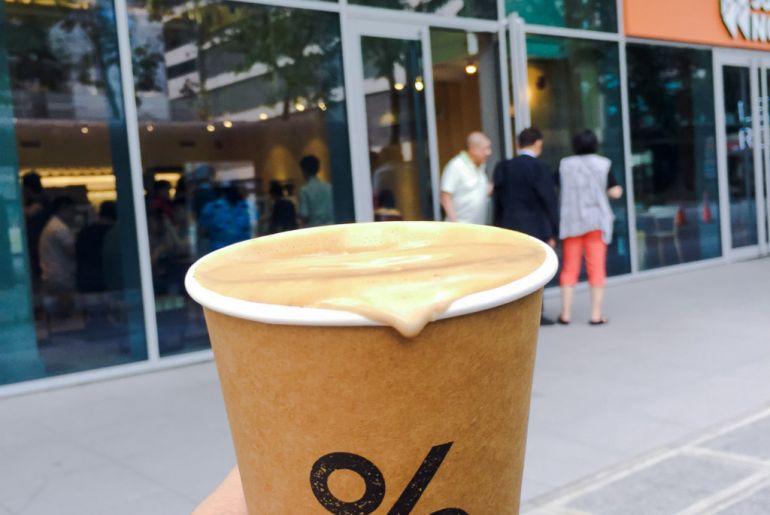 Quán cà phê yêu thích mới ở BGC, Manila: % ARABICA