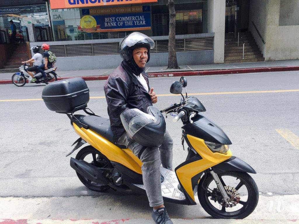 đi xe ôm ở Manila, Philippines