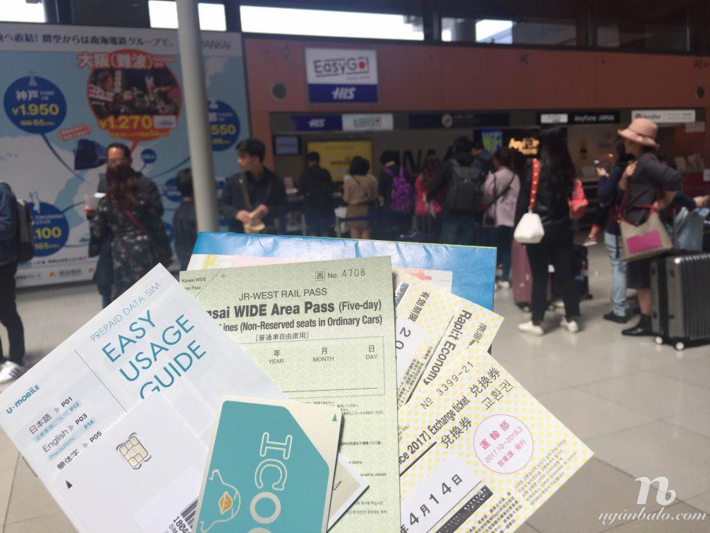 Du lịch bụi Nhật Bản (1) - Ngày đầu tiên: Sân bay Kansai