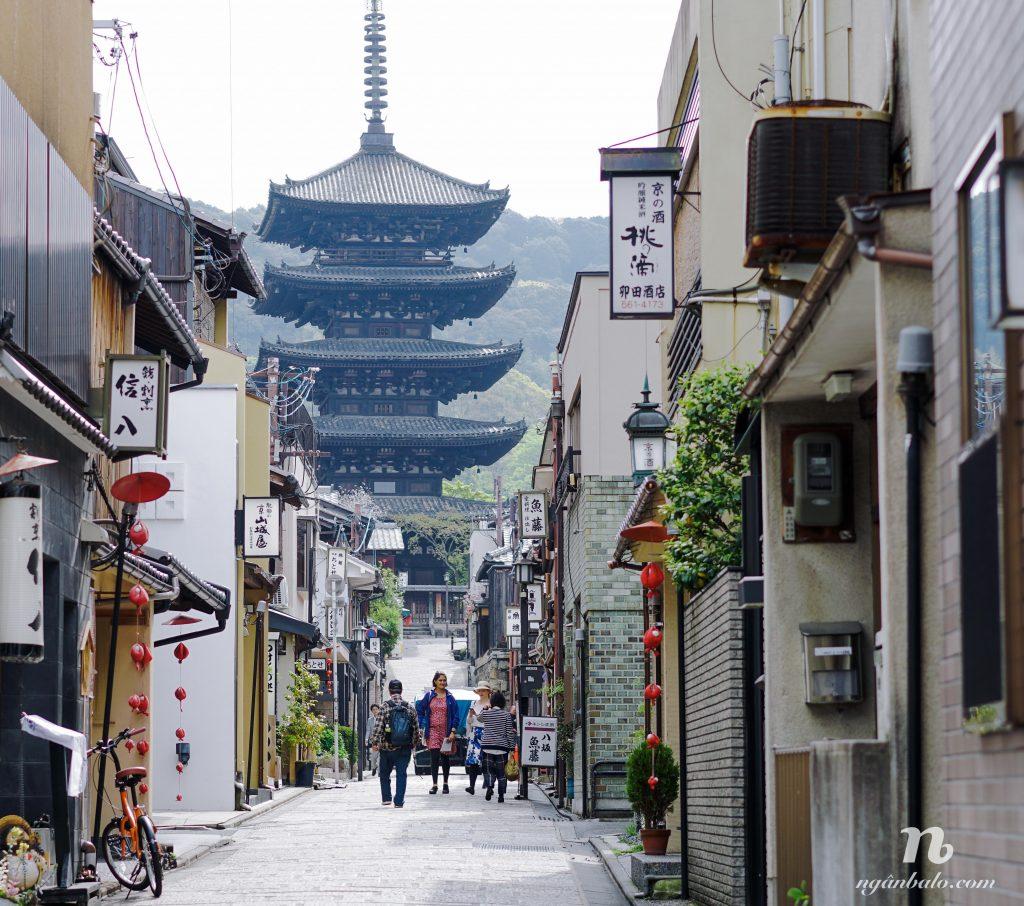 Du lịch bụi Nhật Bản (6): Hai ngày tham quan cố đô Kyoto (Ngày 1)