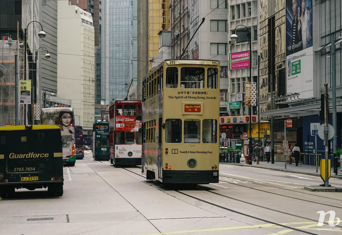 4 ngày du lịch Hong Kong - (1) Chung King Mansion và Victoria Peak
