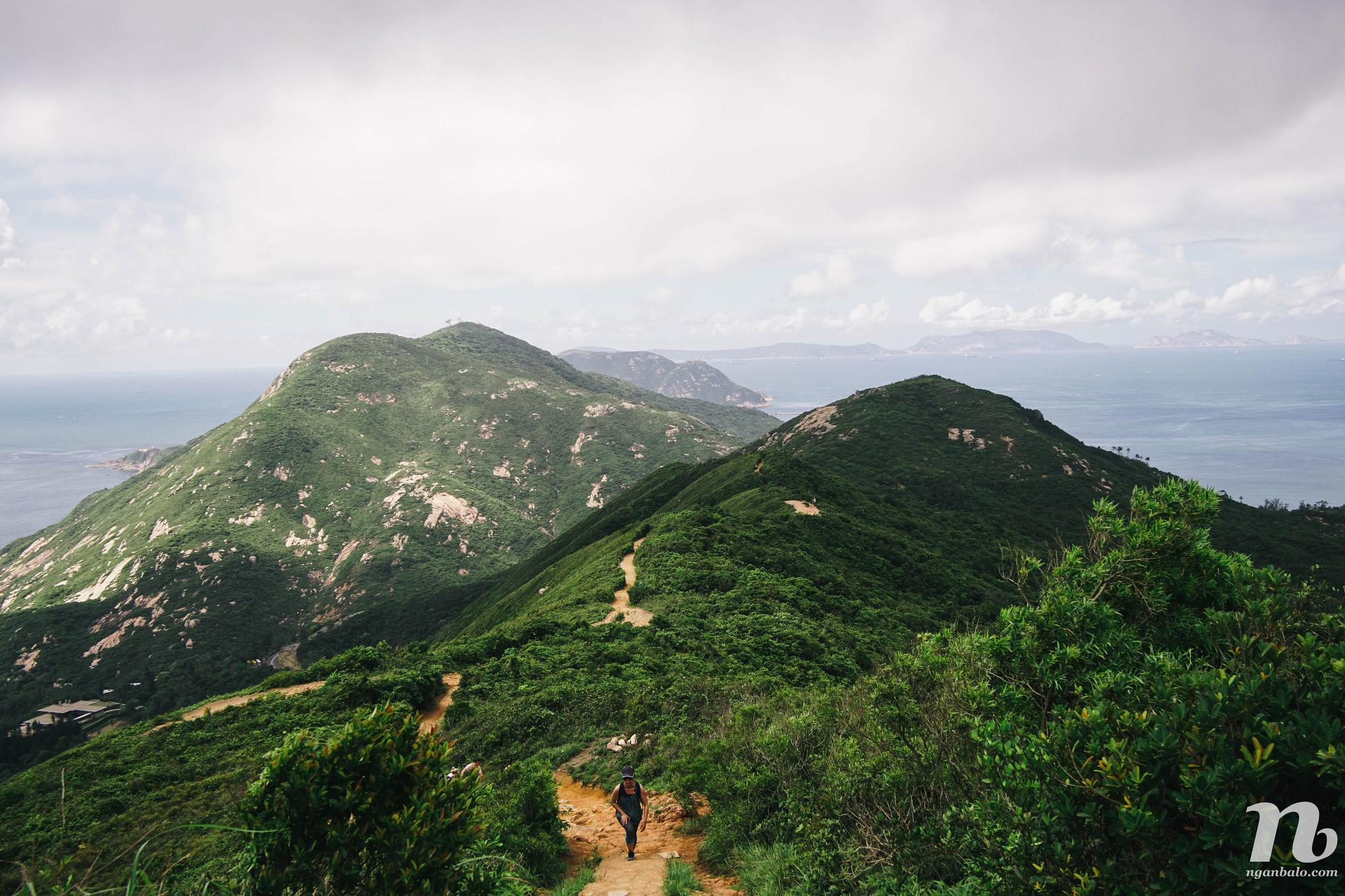 4 ngày du lịch Hong Kong (5): Đi trek Dragon's Back
