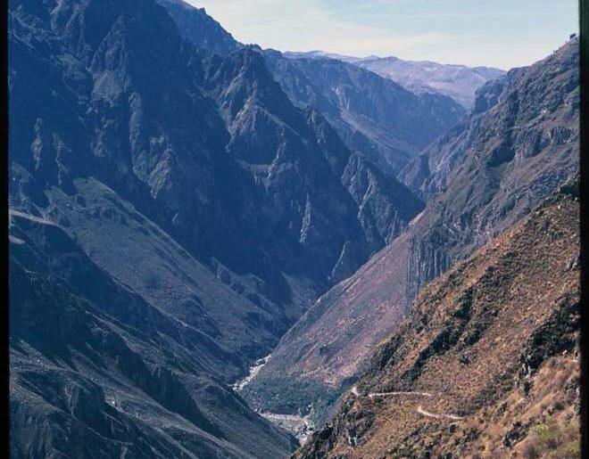 trek COLCA CANYON ở Arequipa Peru
