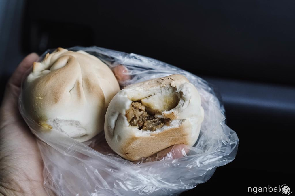 bánh bao nướng