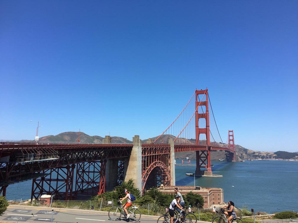 Cầu cổng vàng ở San Francisco